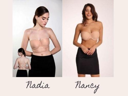 Reggiseni Nadia e Nancy Clara Intimo